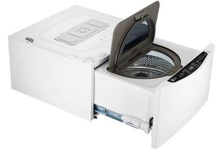 Lave-linge à Hublot LG Compact TwinWash FM27K5WH - Blanc