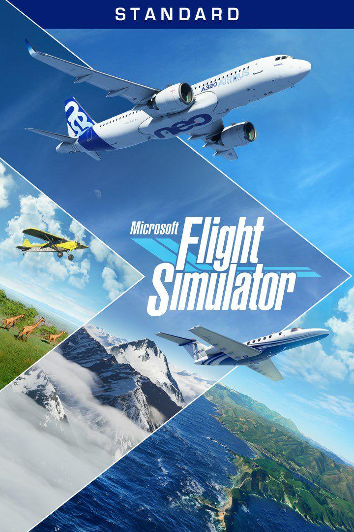 [Précommande] Jeu Microsoft Flight Simulator 2020: Standard sur PC (Dématérialisé)