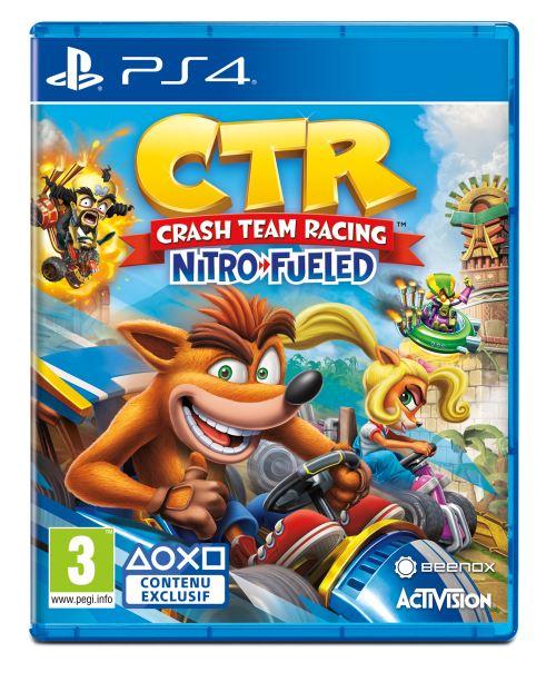 Crash Team Racing Nitro Fueled sur PS4