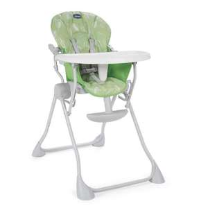 Chaise haute Chicco Pocket Meal Happy - Vert