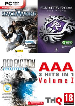 Saints Row the Third + Warhammer 40K Space Marine + Red Faction: Armageddon sur PC (Frais de port : 3.5€)