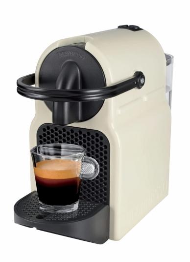 Cafetière à Dosettes Krups Nespresso Inissia 11351 - Crème