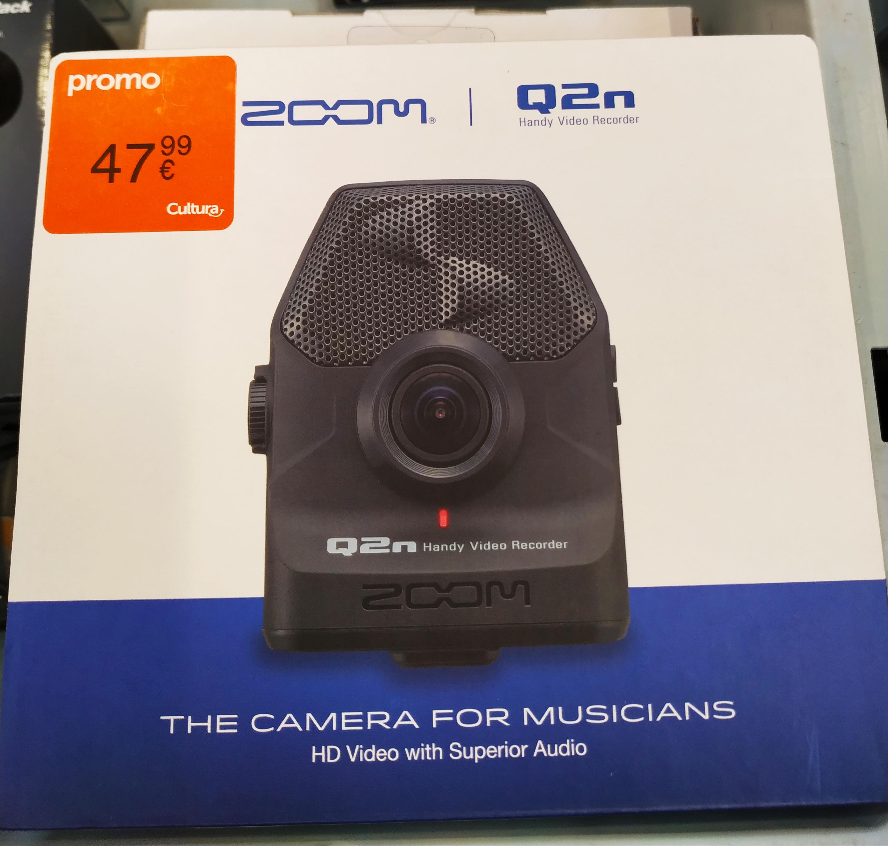 Enregistreur Audio-vidéo Zoom Q2N - Neuville en Ferrain (59)