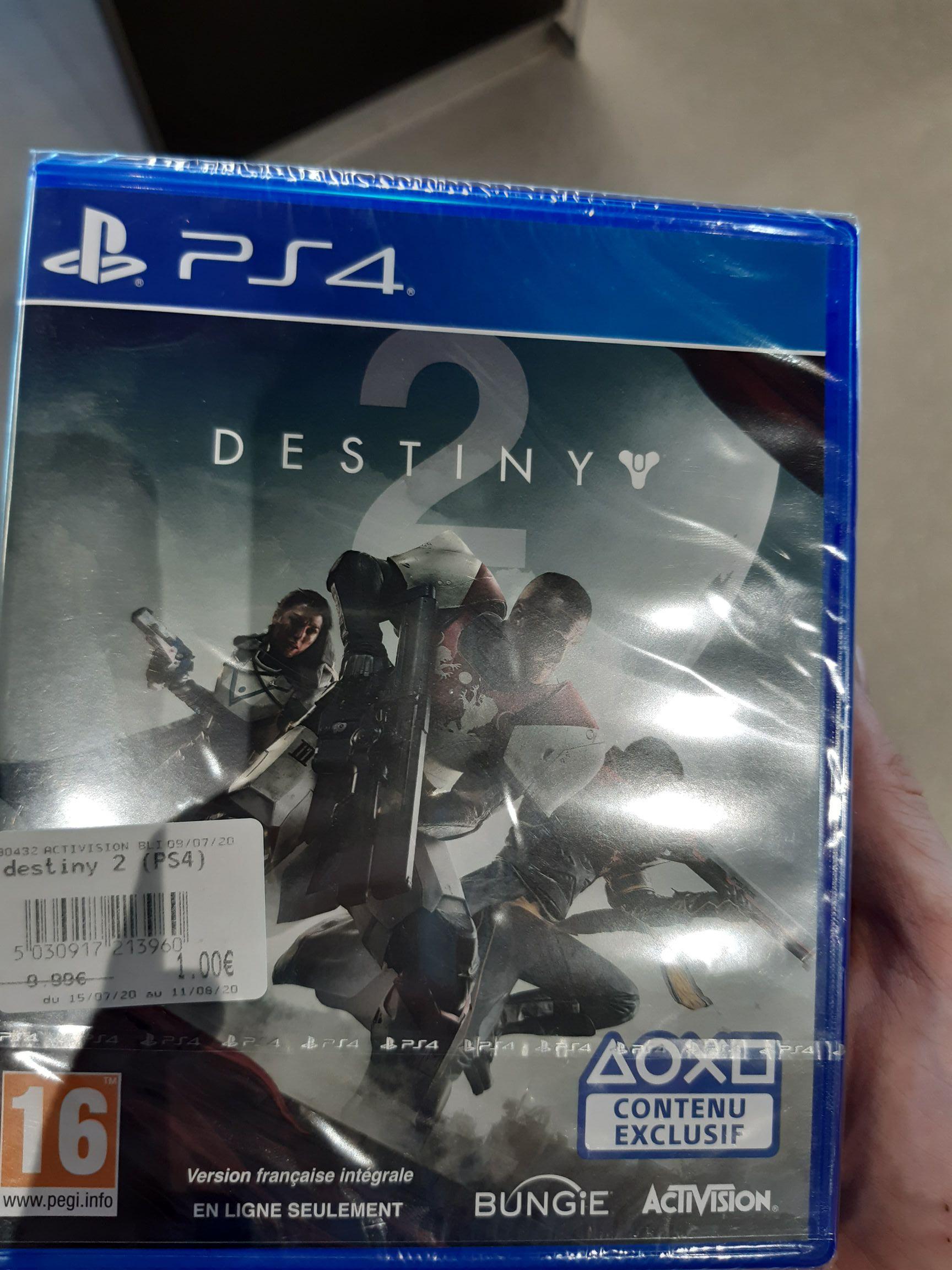 Destiny 2 sur PS4 - Niort (79)