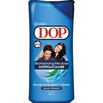 Bouteille de shampooing antipelliculaire dop très doux - 400 ml