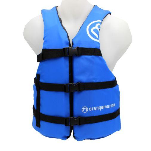 Gilet de sport nautique 50N - 3 boucles, Bleu