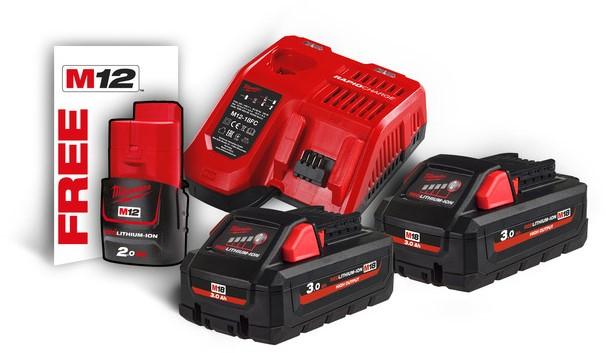 Pack Batterie Milwaukee NRJ 18V 3Ah (4933471071)