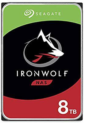 "Disque interne 3.5"" pour NAS Seagate IronWolf - 8 To"
