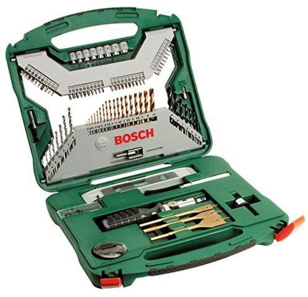 Coffret de Mèches & Forets Titane Bosch 2607019330 X-line - 100 Pièces