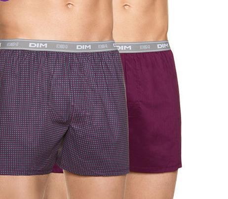 Jusqu'à 70% de réduction sur une sélection de sous-vêtements - Ex : Lot de 2 Caleçons Homme