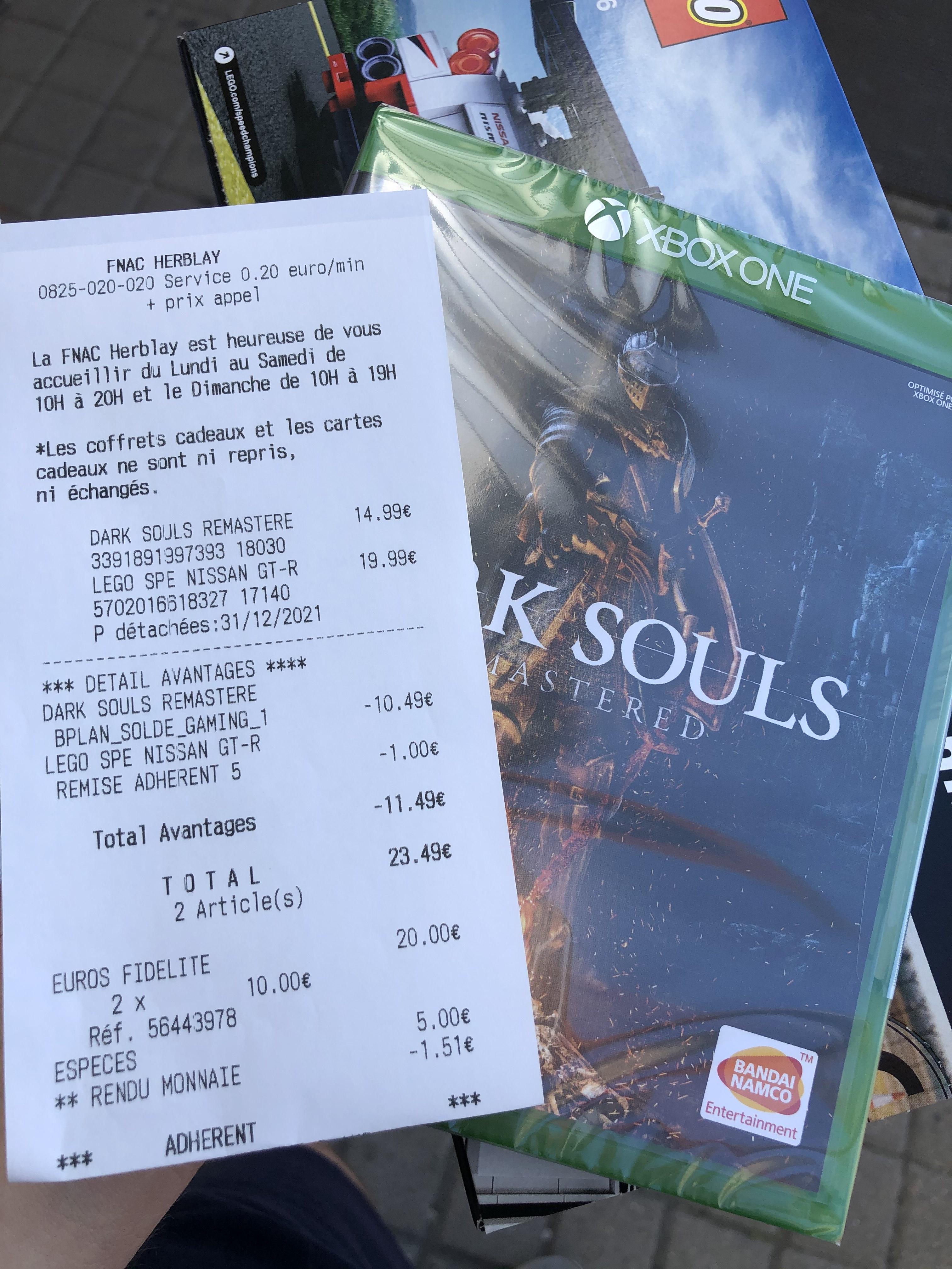 Dark Souls Remastered sur Xbox One - Herblay (95)