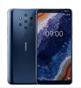 """Smartphone 5,99"""" Nokia 9 PureView - 128 Go, Android One (+25€ en superpoints)"""