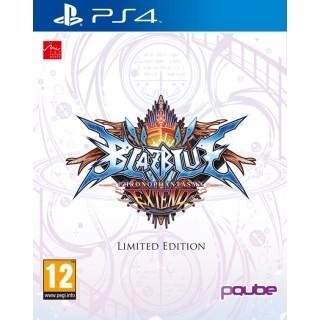 Jeu BlazBlue Chrono Phantasma sur PS3-PS4-PS Vita - Edition limitée européenne (en Anglais)