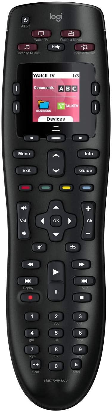 Télécommande Universelle Logitech Harmony 665 Advanced Remote Control