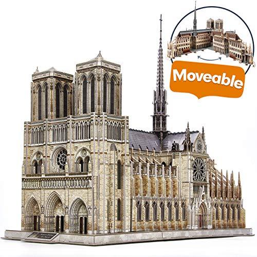 Puzzle 3D Construction Notre-Dame de Paris (Vendeur Tiers)