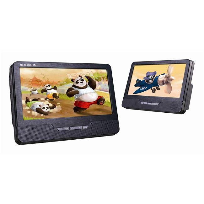 2 Lecteurs DVD Norauto Sound NS-16309HIR pour Autos