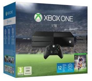 Console Microsoft Xbox One 1To + FIFA 16