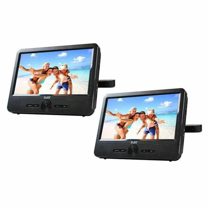"""Lecteur DVD Portable D-JIX PVS706-50SM - Double écran 7"""""""
