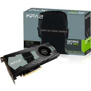 Carte Graphique GeForce GTX 980 KFA2 - 4 Go DDR5 256-bit + Jeu Rise of the Tomb Raider