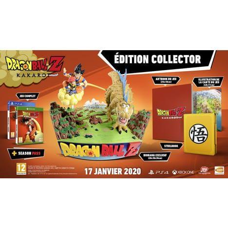 Dragon Ball Z: Kakarot édition Collector sur PS4