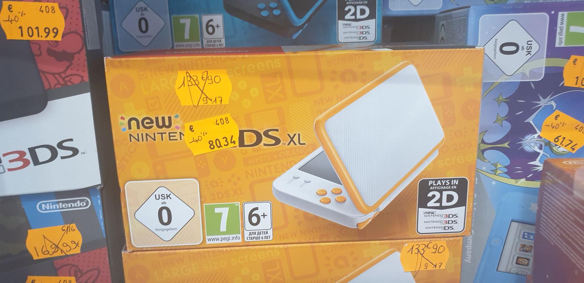 Sélection de consoles Nintendo 2DS & 3DS en promotion - Ex : Console Nintendo 2DS Pokémon Moon - Questembert (56)