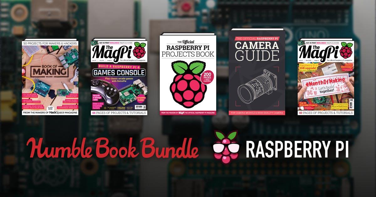 Humble Raspberry PI Bundle - 10 livres à partir de 0.88€ (Dématérialisé - Anglais)