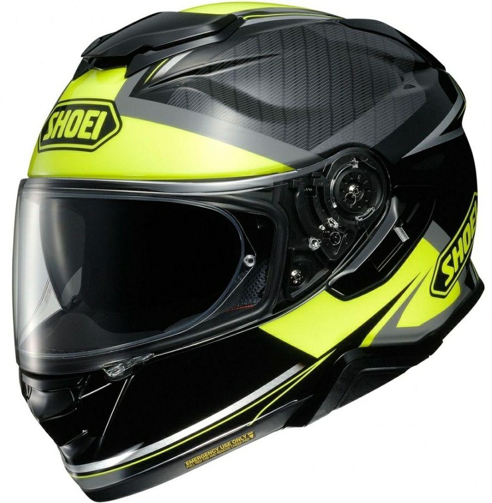 Casque moto Shoei GT-AIR 2 Affair - Taille M, Noir/Jaune