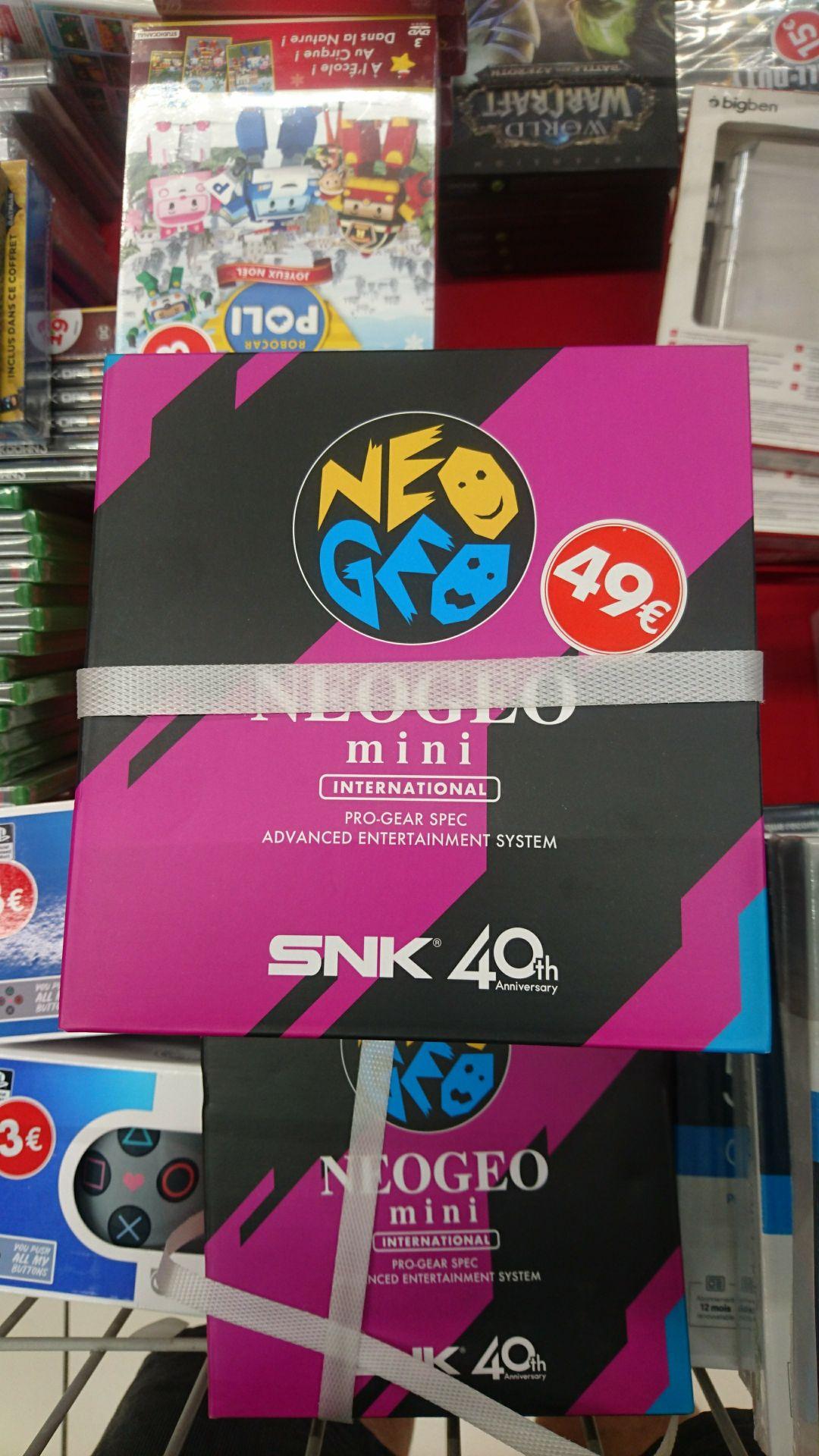 Console Neo Geo Mini - Salaise Sur Sanne (38) / Ecully (69)