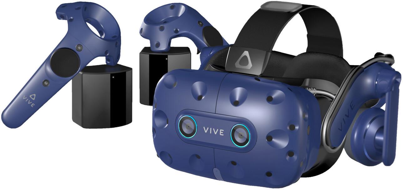 Casque de réalité virtuelle HTC Vive Pro EYE - Full kit