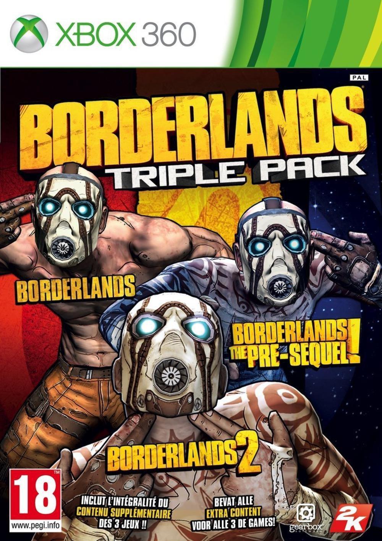 Borderlands Triple Pack sur Xbox 360 et PS3