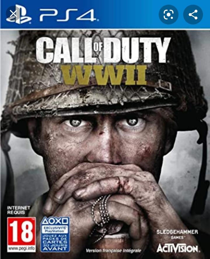 Call Of Duty WW2 sur PS4 (Paris Ternes 75017)