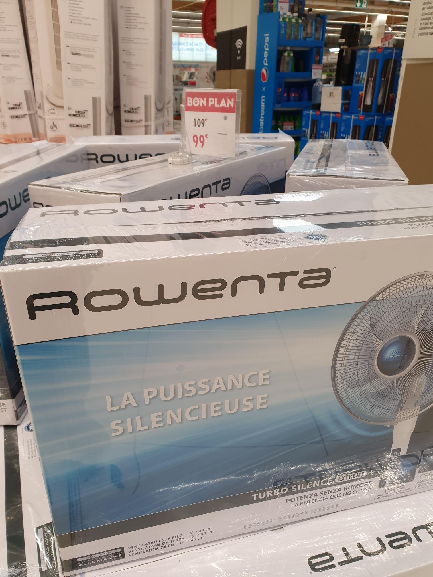 Ventillateur Rowenta Turbo Silence Extrême+ 35dB avec télécommande (VU5770F0) - Villeneuve-la-Garenne (92)