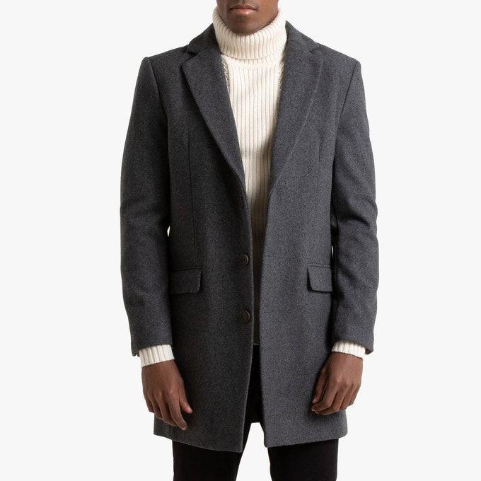 Manteau en Drap de Laine Marc pour Hommes - Tailles au choix