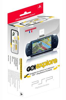 GPS Sony PSP + GO EXPLORE