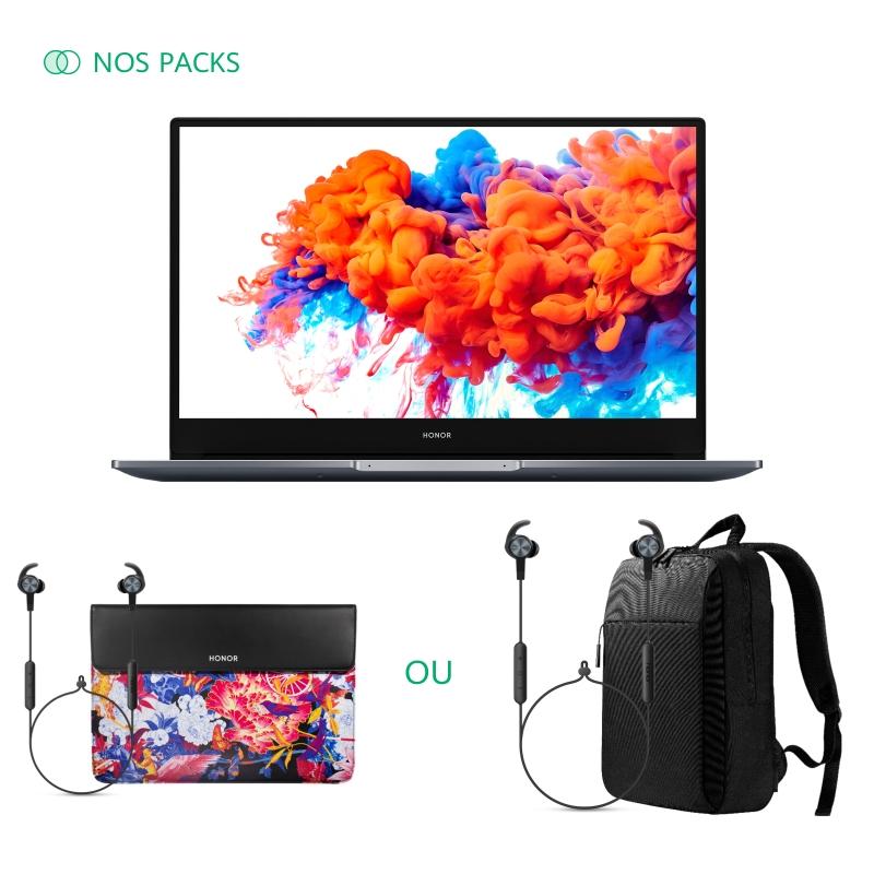 "PC Portable 14/15.6"" Honor MagicBook 14/15 - Full HD, Ryzen 5 3500U, RAM 8 Go, SSD 256 Go + 2 Cadeaux au choix"
