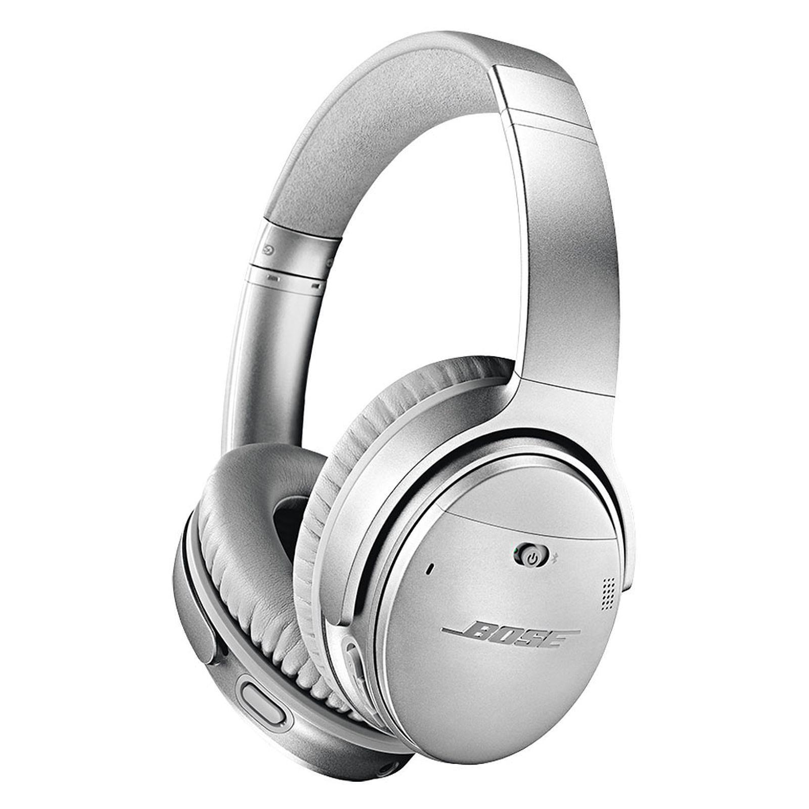 Casque Bluetooth Bose QuietComfort QC 35 II - Argent (179.99€ avec RAKUTEN15 + 18€ en SuperPoints)