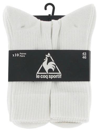 Lot de 10 paires de chaussettes homme Le Coq Sportif ou Diadora