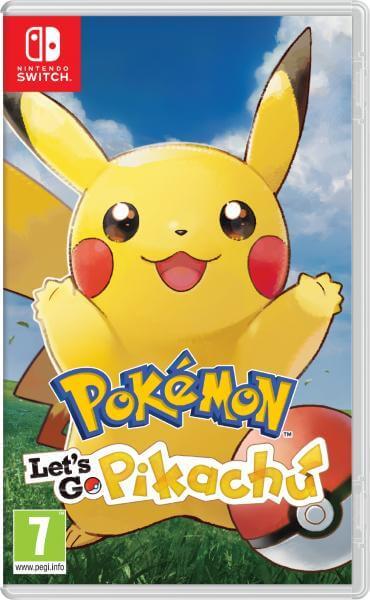 Pokemon Let's Go Pikachu sur Nintendo Switch (Retrait en magasin)