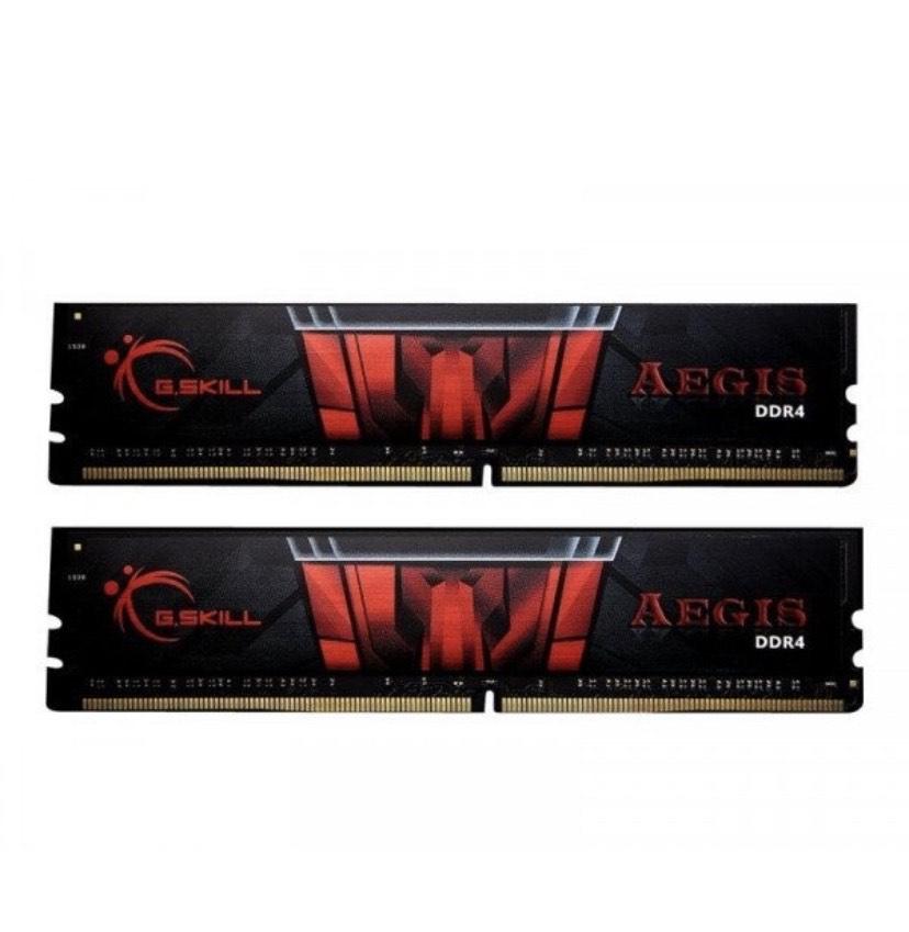 Kit Mémoire RAM G.Skill Aegis - 16 Go (2 x 8 Go), 3000 Mhz, CL16