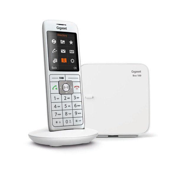 Téléphone fixe sans-fil Gigaset CL660 Solo - Blanc (+ 6€ en SuperPoints)