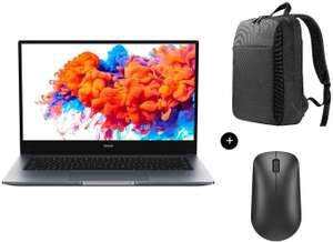 "PC Portable 14/15.6"" Honor MagicBook 14/15 - FHD, Ryzen 5 3500U, RAM 8Go, SSD 256Go + Sac à dos Honor Backpack + Souris sans fil Honor Mouse"
