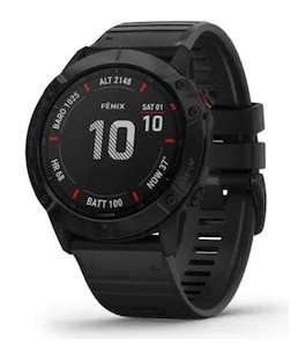 Montre GPS Garmin Fenix 6X Pro (Frontaliers Suisse)