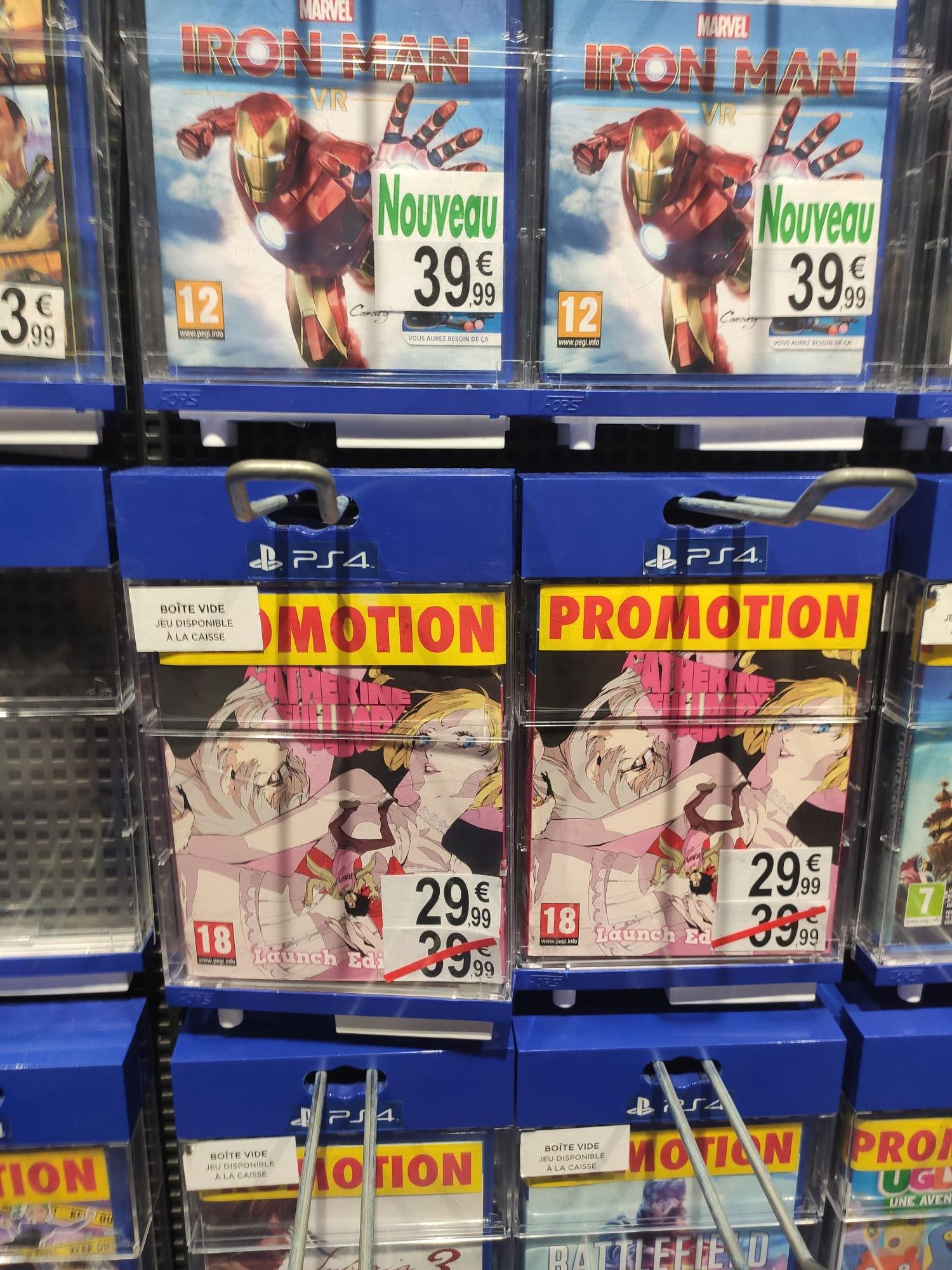 Catherine Launch édition sur PS4 + Steelbook