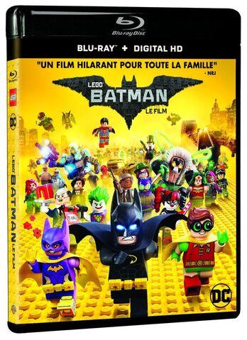 Blu-Ray + Copie Digitale Ultraviolet Lego Batman Le Film