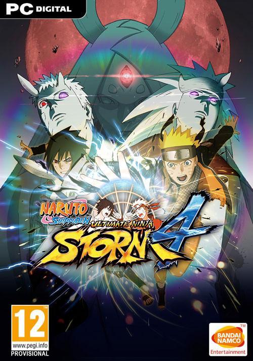 Naruto Shippuden Ultimate Ninja Storm 4 sur PC (dématérialisé - Steam)
