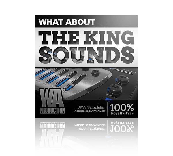 The King Sounds - Presets, Samples, Templates gratuits (Dématérialisés) - audioplugin.deals