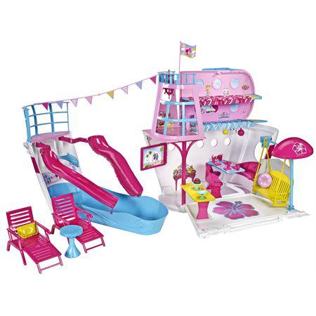 Barbie bateau de croisière