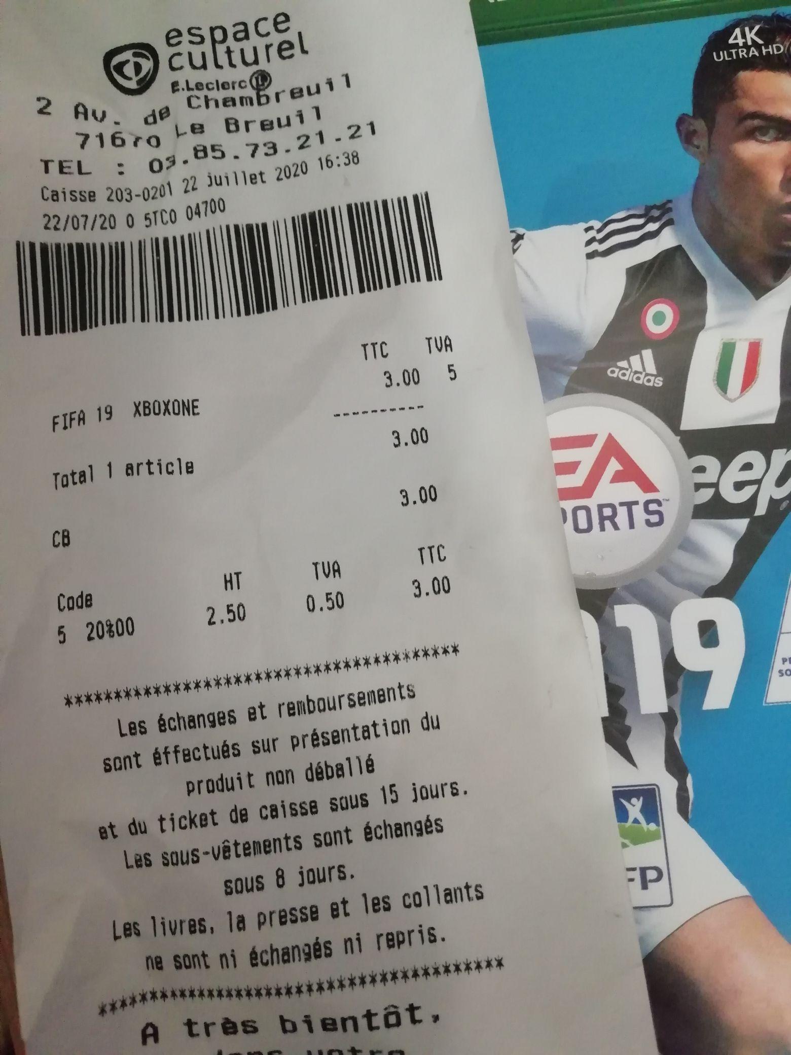 FIFA 19 sur Xbox One - Le Breuil (71)