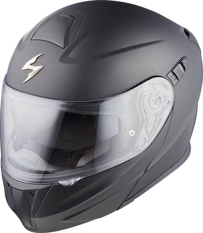 Casque Moto Modulable Scorpion Exo 920 Noir Mat - Tailles au choix