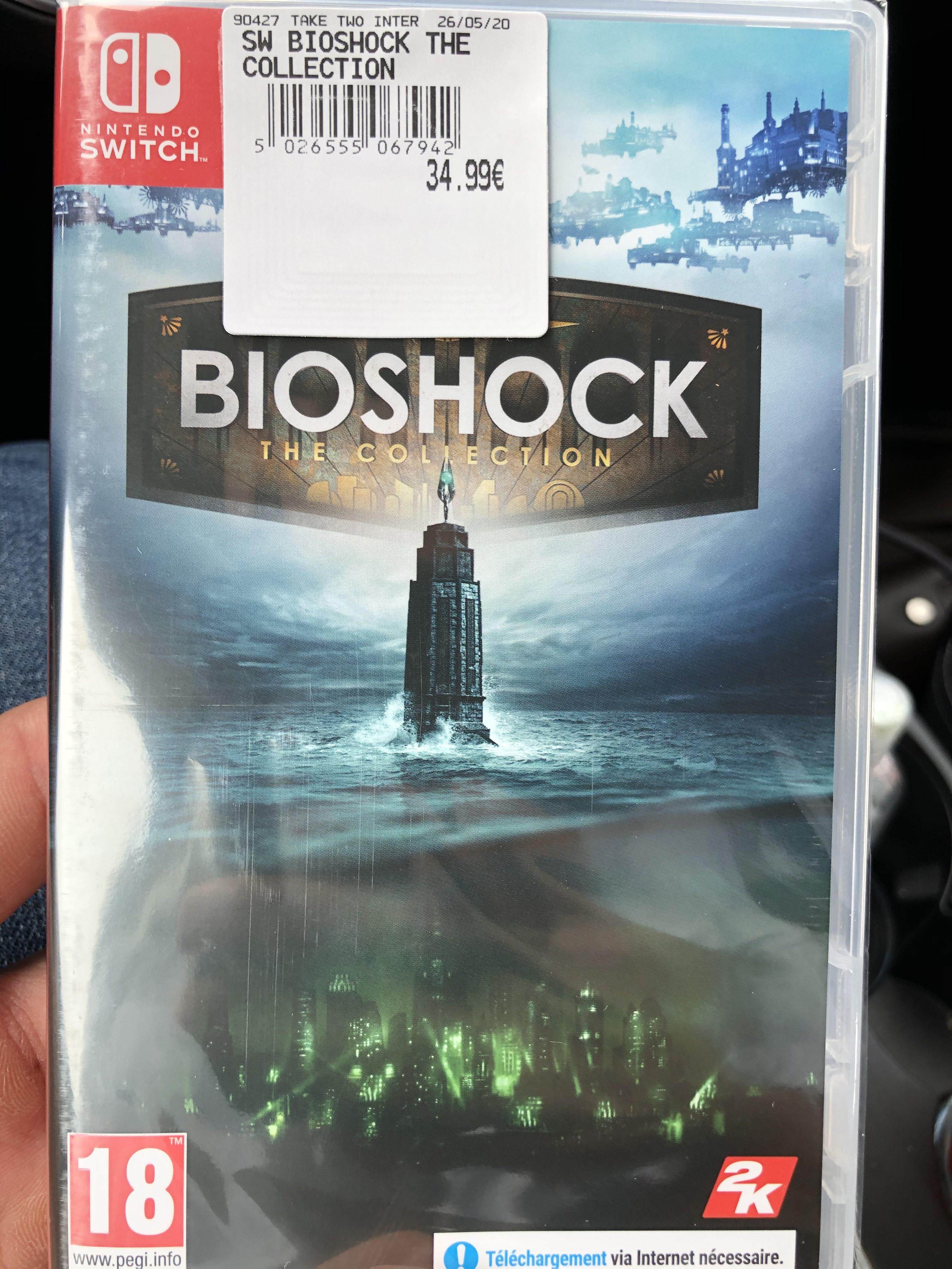 BioShock Collection sur Nintendo Switch (Incarville 27)